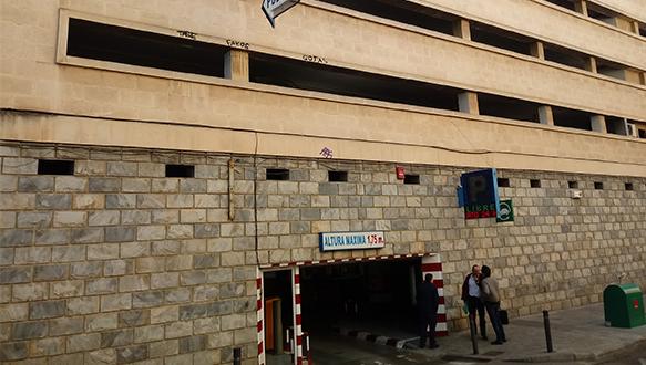 Acceso Parkinh Vibelsa en Murcia centro