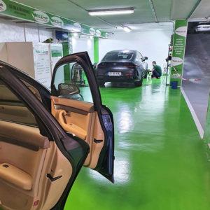 Parking con servicio de lavadero ecológico en Murcia