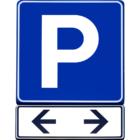 Señal de Parking Vibel en Murcia